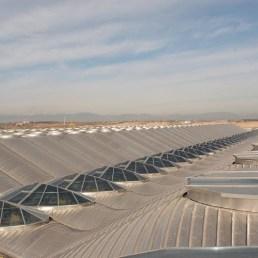 Cubierta Terminal T4. Aeropuerto Barajas