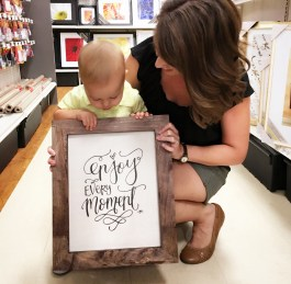 Enjoy Every Moment Wall Art - Sam Allen Creates in Michaels Stores