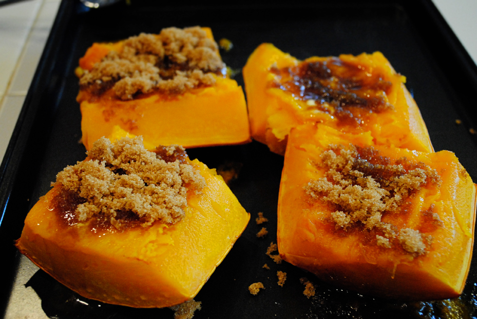 Banana Squash With Brown Sugar And Butter Sam Allen Creates