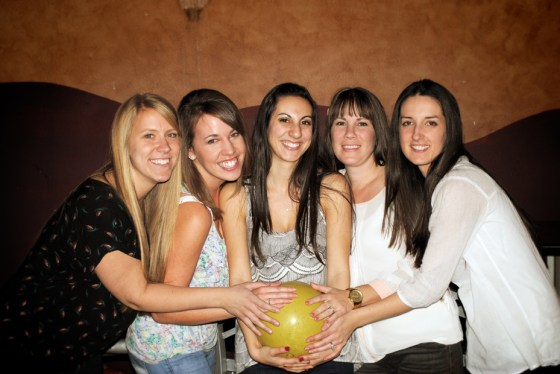trisha-pregnant-bowling
