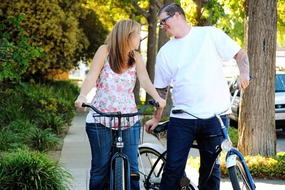 Matt and Amie's bike Engagement Pictures in Orange Circle_0259