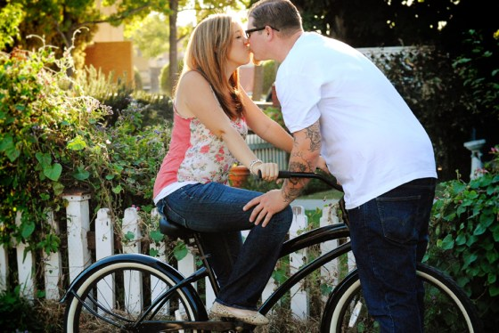 Matt and Amie's bike Engagement Pictures in Orange Circle_0400