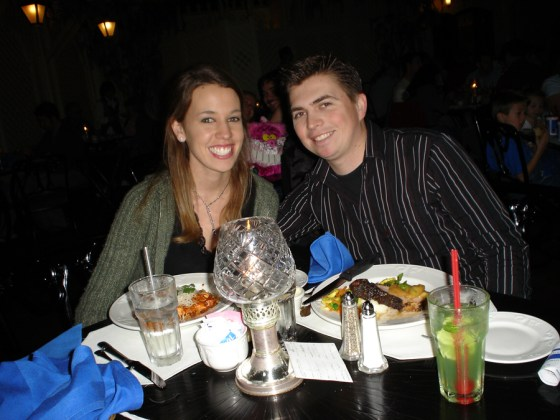 blue bayou dinner jan 2006