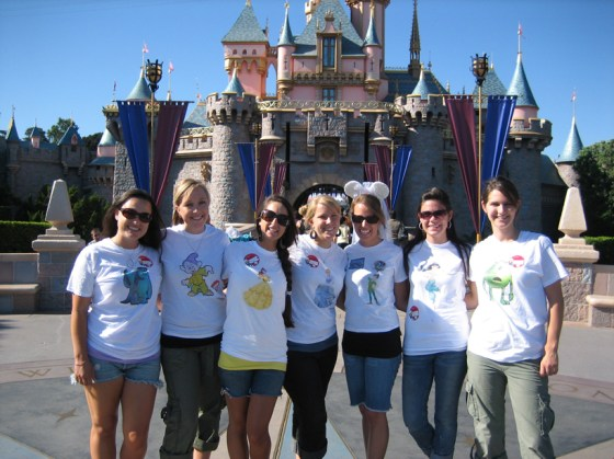 disneyland bachelorette party shirts