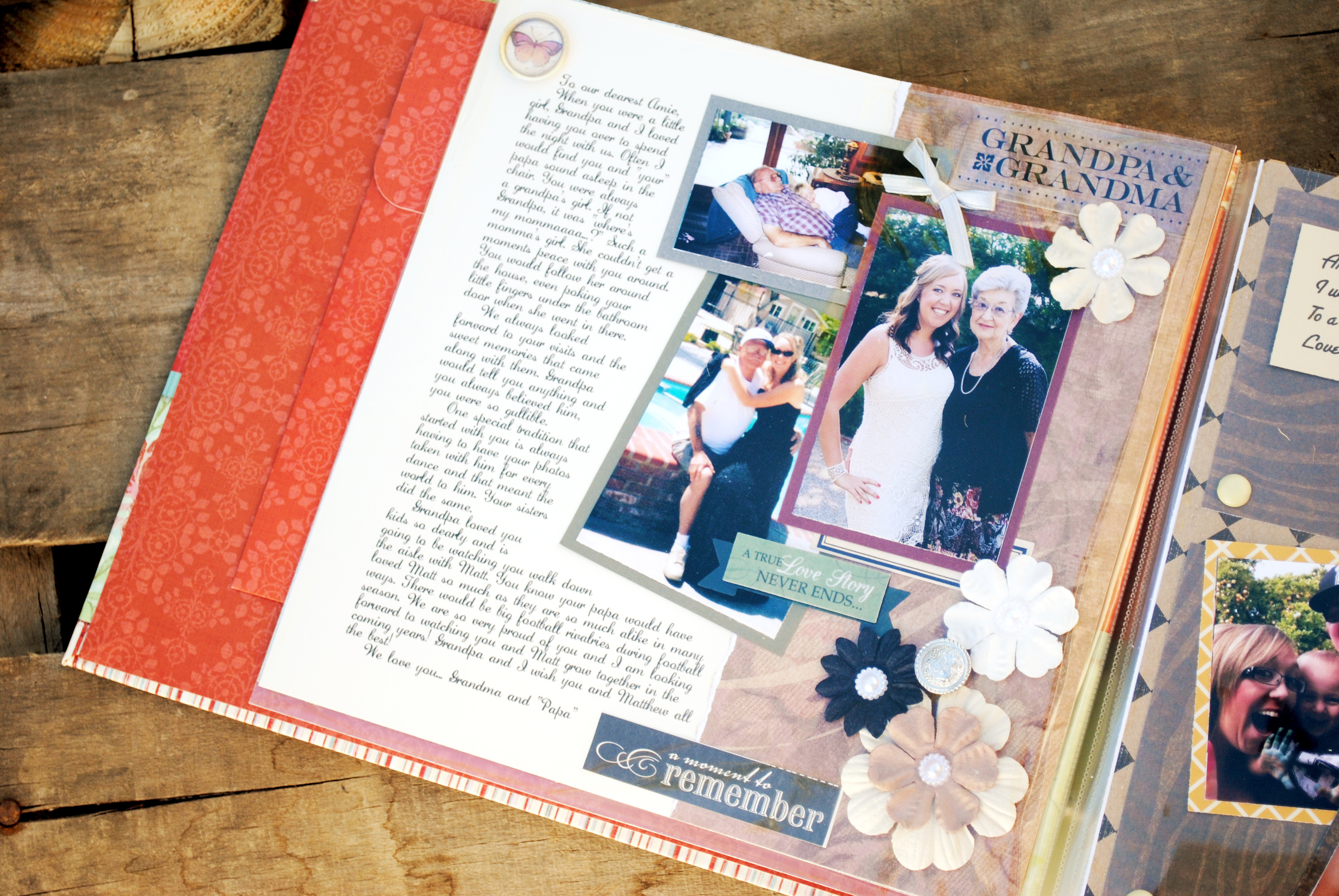 gift for the bride letter scrapbook_0999 gift for the bride letter scrapbook_0001 ...