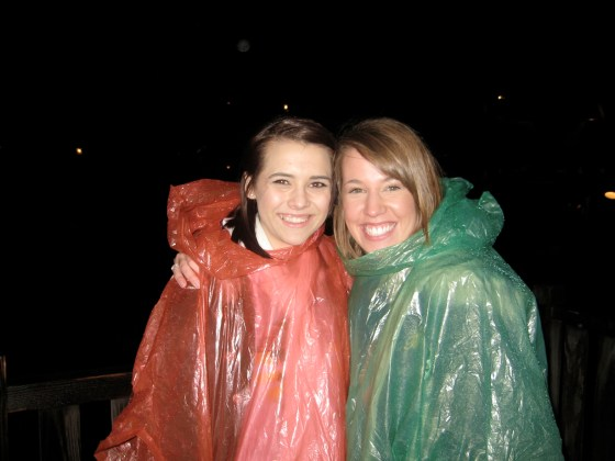 ponchos at disneyland 2010