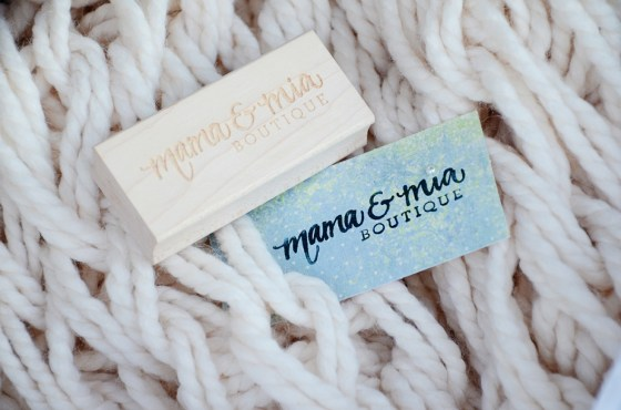 mama and mia boutique rubber stamp by your new friend sam 55