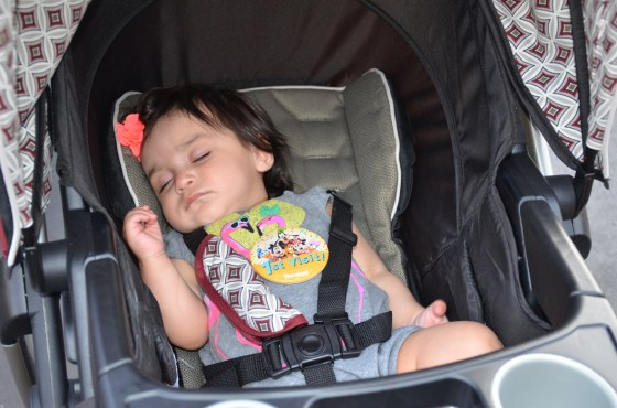 mollys first disneyland trip april 2014