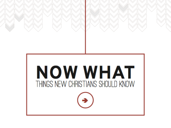 now what new believers packet