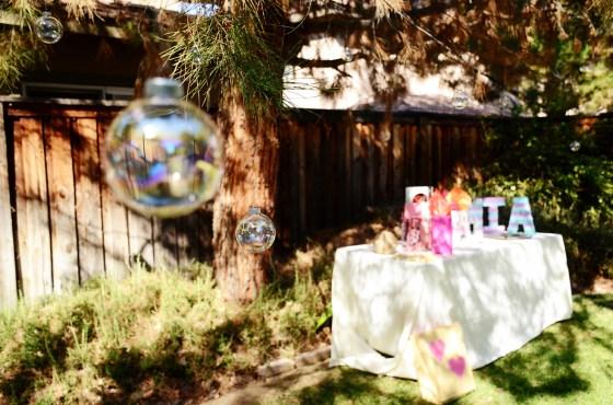 under the sea birthday party bubble tree 564