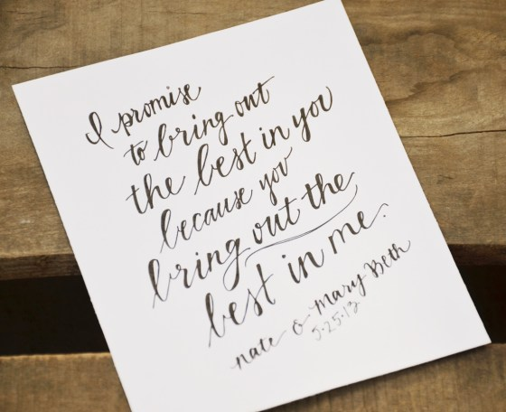 Your New Friend Sam Etsy Footloose Handwritten Wedding Vows 833