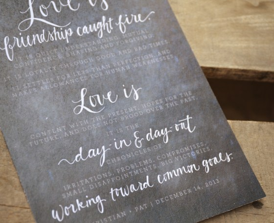 Your New Friend Sam Etsy Footloose Handwritten Wedding Vows 843