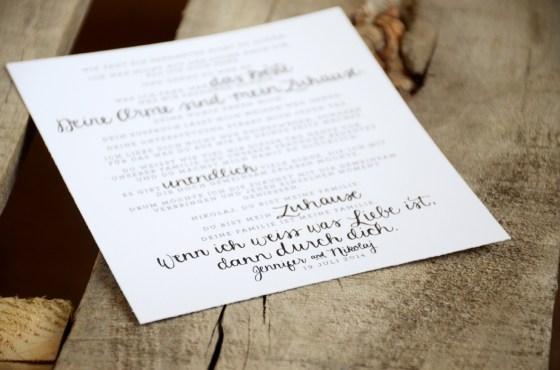 Your New Friend Sam Etsy Smiling Bubbly Handwritten Wedding Vows Jennifer Nikolaj German 550