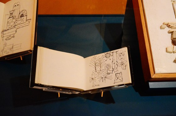 Recognize this scene from its a small world from Mary Blair's sketchbook—her rough sketches are as bad as mine!