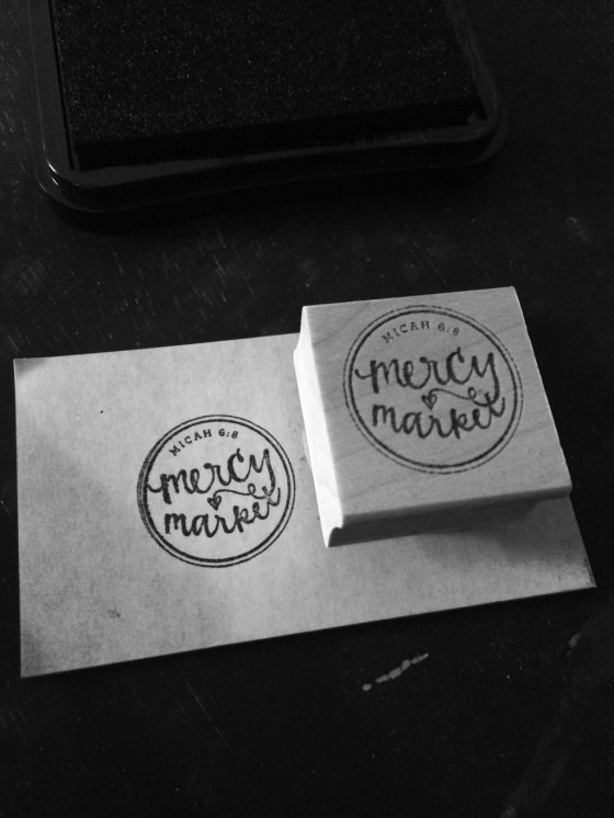 mercy market shop rubber stamp from Etsy Your New Friend Sam