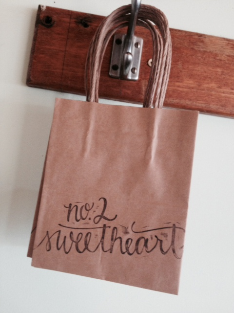 no.2 sweetheart shop stamp melindajanewain from Your New Friend Sam