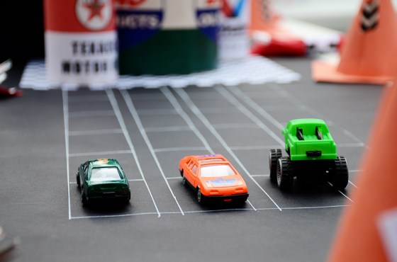 car themed baby shower party game pieces