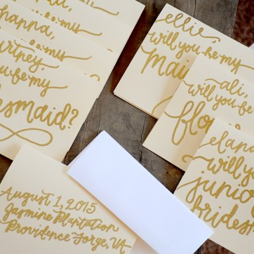 Personalized Cards with Names, Date and Venue