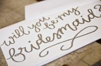 White Cardstock with Silver Glitter Embossing Detail