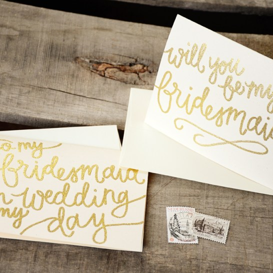 Cream Cardstock with Gold Glitter Embossing