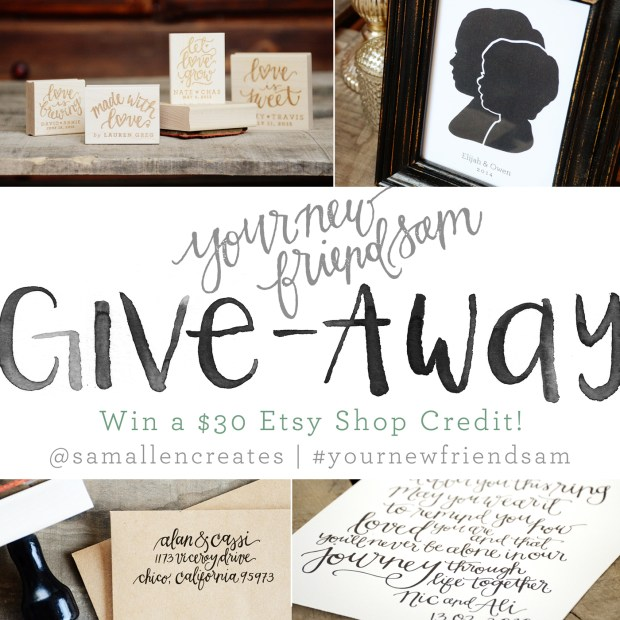 Your New Friend Sam Giveaway
