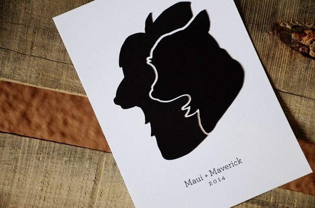 Papercut Dog Silhouette from Your New Friend Sam on Etsy 98