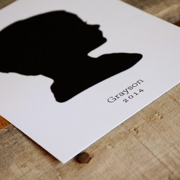 Papercut Silhouette from Your New Friend Sam on Etsy 36