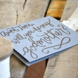 Silver Personalized Embossing
