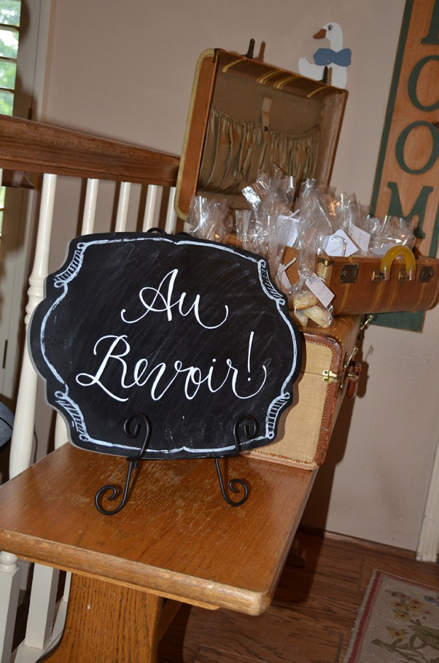 french country baby shower bebe soiree au revoir scone favors