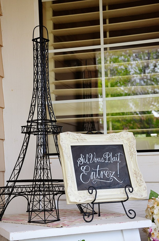 french country baby shower bebe soiree entrez