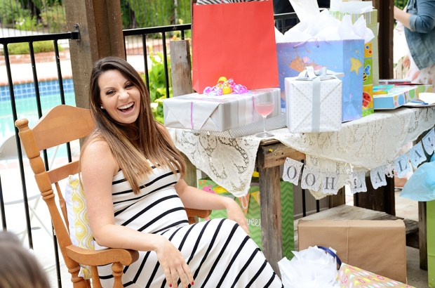 french country baby shower bebe soiree gift table brittany
