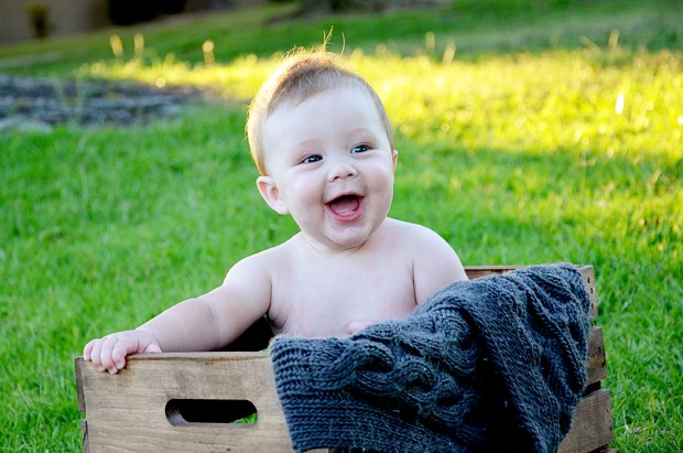 Hudson 7 Months Nakie crate 486