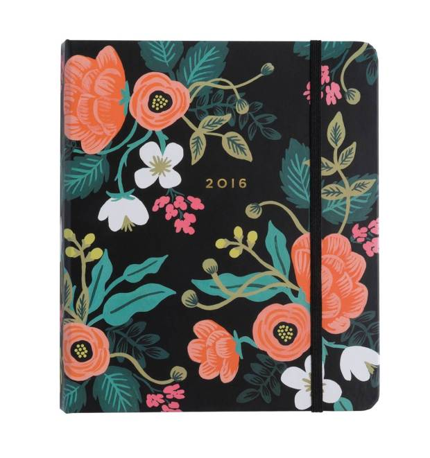Rifle Paper Co Planner
