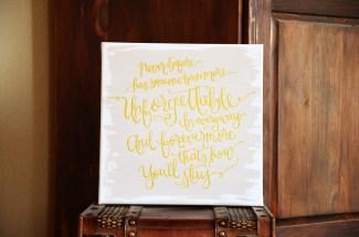 Unforgettable Handpainted Canvas