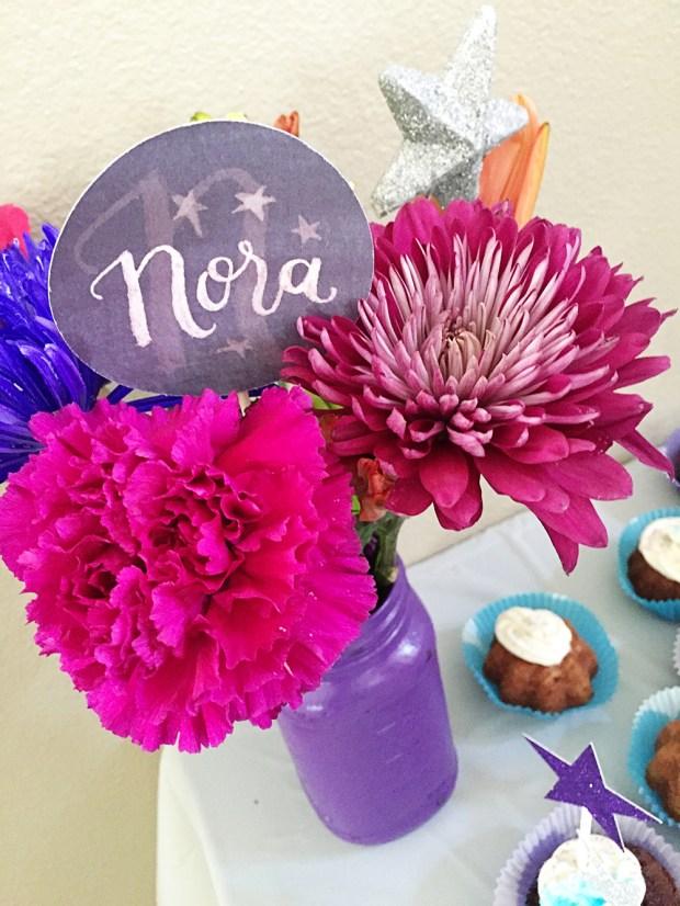 Twinkle Twinkle Baby Shower Flower Centerpiece