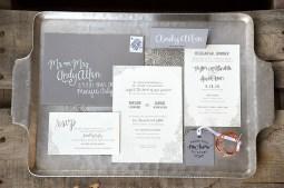 Sam Allen Creates Wedding Invitation Suite for Taylor full
