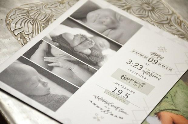 Isaiahs Birth Announcement Details 2