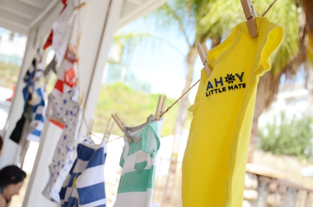 Storybook Baby Shower Clothesline