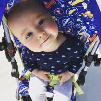 Isaiah 9 Months Stroller