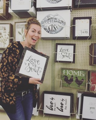 Sam Allen Creates for Hobby Lobby - Love is Sweet -Tessa