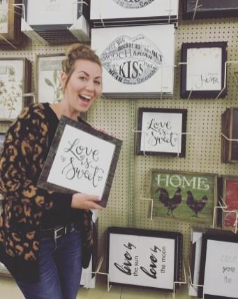Sam Allen Creates for Hobby Lobby - Love is Sweet -Tessa