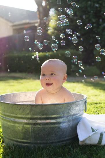 Jessica Rose Bubble Bath 9 Month Photos isaiah-3632 e
