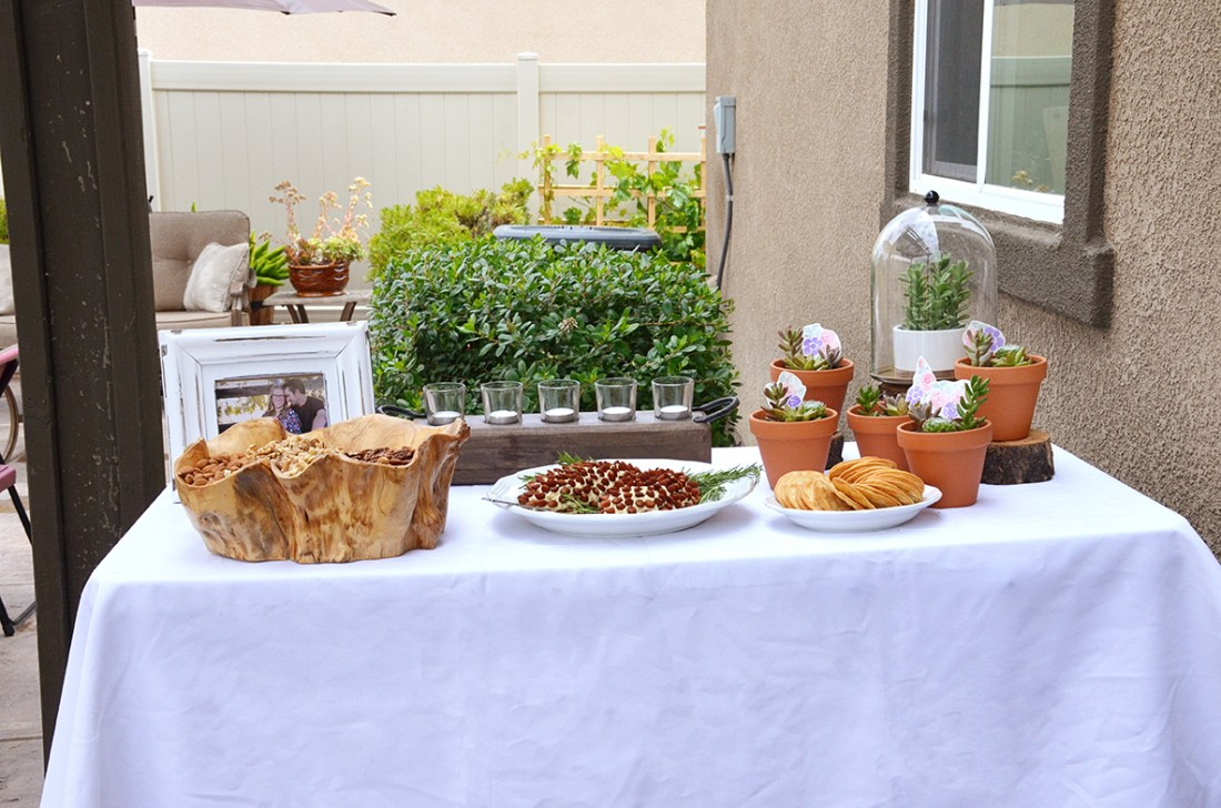 Shabby Chic Woodsy Baby Shower Appetizers