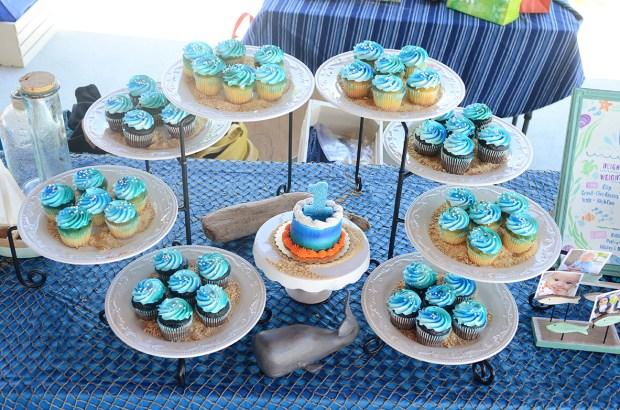 Sam Allen Creates - Isaiah's First Birthday - Under the Sea Birthday - Dessert Table 1