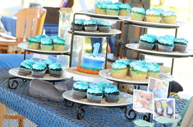 Sam Allen Creates - Isaiah's First Birthday - Under the Sea Birthday - Dessert Table 4