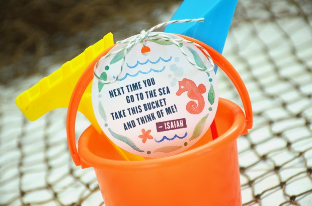 Sam Allen Creates - Isaiah's First Birthday - Under the Sea Birthday Party Favor