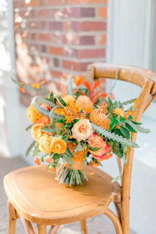 Sam Allen Creates - Estate on Second Wedding Styled Shoot, by Harper Grace Photography 806 bridal bouquet