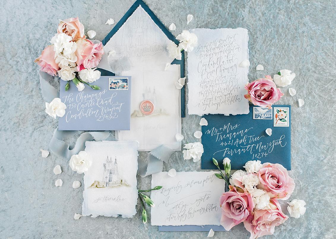 Sam Allen Creates Disney Inspired Cinderella Wedding