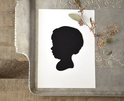 Sam Allen Creates - Handdrawn Papercut Silhouette