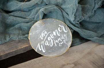Sam Allen Creates - Capiz Shell Ornaments